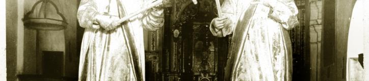 Santos Mártires de Ruiz del Peral destruidos en la Guerra Civil