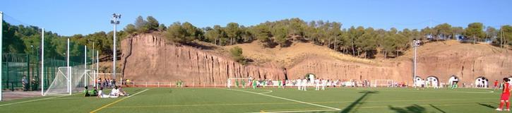 Vista de las instalaciones deportivas