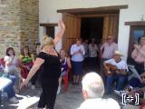 Coro rociero en Bodegas Mendez