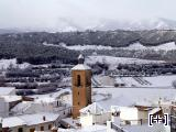 Nevado sobre Alcudia