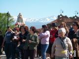 Traslado de la Virgen a la Iglesia de Exfiliana(semana posterior a la Romería)