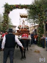 Romería a su paso por Alcudia