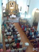 Interior de la Iglesia de la Anunciación de Alcudia de Guadix